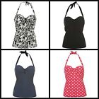 Ladies Ocean Pacific Swimming Tankini Top Swimsuit Swimmers~8 10 12 14 16 18 20