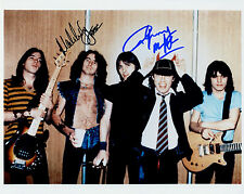 REPRINT - AC/DC ACDC 1 Angus Malcolm Young autographed signed photo copy reprint