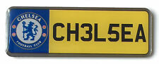 Large Chelsea F.C. Football Club Number Plate Enamel Lapel Pin Badge Official