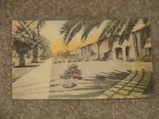 Shadows on the Lawn, Florida, Hand-Colored