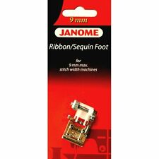Ribbon / Sequin Foot #202090009 For Janome 9MM Max Stitch Width Sewing Machine