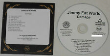 Jimmy Eat World - 10 Song White Label 2013 Promo CD With Custom Sticker