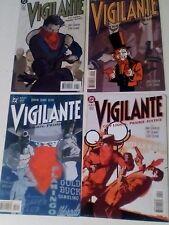 VIGILANTE 1-4. DC COMICS.