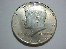 USA Half Dollar 1964 d in Uncirculated condition.Nice coin.