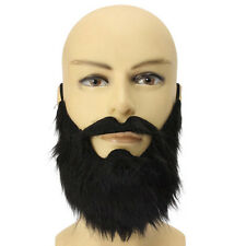 Fancy Dress Fake Beards Halloween Costume Party Moustache Black Halloween Gift