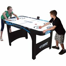 Air Hockey Table 5ft With Electronic Scoring Kids Game Room Indoor Sports Toy