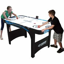5ft Air Hockey Table With Electronic Scoring Kids Game Room Indoor Sports Toy