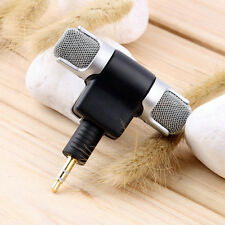 Mini Stereo Microphone Record Mic 3.5mm Jack for PC Laptop Notebook MP3/4