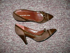 Women's Brown Patent & Suede Pumps MARC by MARC JACOBS Sz 39.5,  Made in Italy