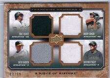 2008 UD Piece of History Quad Jersey CHAVEZ CROSBY STREET HARDEN #FM4-11 - /99