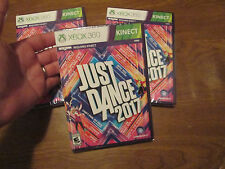Just Dance 2017 ( Microsoft Xbox 360, 2016) VIDEOGAME NEW FACTORY SEALED