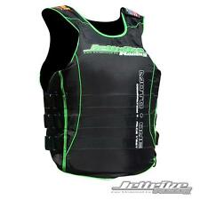 Jettribe M1-G2 U.S.C.G. Side-Entry Race Vest Green PWC Jetski Ride (S/M) 13402GN