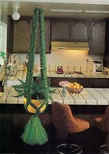 Kids Thick Plant Hanger Pattern - Craft Book: #905 Macrame for Ages 8 and Up 2