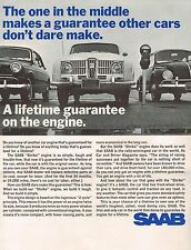 1965?1966's Saab 96 Warranty?from?Owners Manual: Shrike Two Cycle Engine