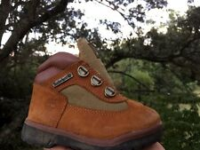TIMBERLAND Toddler Leather Suede COWBOY WORK HIKING Boots Boys Girl Shoes Sz 8