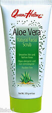 Queen Helene Aloe Vera natural facial scrub Smoothes skin cleans pores 6 oz.