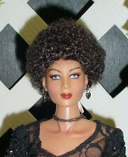"Doll Wig, Monique Gold ""Tyra"" Sz 5/6 in Off Black/Brown Black (Unisex Wig)"
