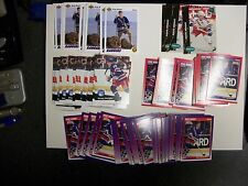 1991-92 HOCKEY LOT OF 123 DOUG WEIGHT ROOKIES MANY DIFFERENT COMPANIES UNPICKED