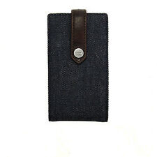 CUSTODIA CASE DIESEL THOREAU IN JEANS DENIM per APPLE IPHONE 4 4G 4S 3G 2G 3GS