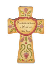 "Pavilion Gift Co Resin Country Soul 29054 ""Mother"" Self-Standing Cross  6"" NEW"