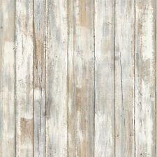 RMK9050WP Distressed Wood DIY Peel & Stick Wallpaper Free Shipping