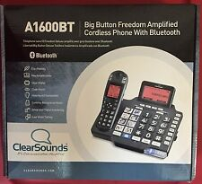 ClearSounds A1600BT, iConnect Amplified Cordless Phone with Bluetooth