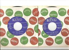STANLEY BROTHERS, Bully of the Town b/w How Bad I Do Feel, KING 45 RPM, MINT-!