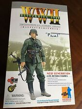 "DRAGON WWII GERMAN NCO BLITZKRIEG 1940 GERMANIA 12"" FIGURE PAUL 1/6 SCALE MIB"