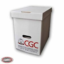 CGC GRADED MAGAZINE BOX By GERBER! Official Authorized! Case of 5 Boxes!