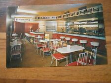 Old Vintage Postcard Old Vienna Bismarck Hotel Chicago Soda Fountain Coffee Ice