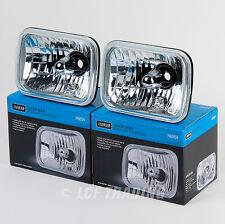 7 x 6' Sealed Beam Headlamp Conversion Kit with Philips Diamond Vision H4 Bulbs