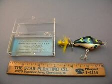 """VINTAGE MERCER'S """"WATER TURKEY"""" FLORIDA LURE NIB WITH PAPER 001 FREE SHIPPING"""