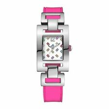 newstuffdaily: NIB TOMMY HILFIGER Pink Silicone Ladies Watch etm