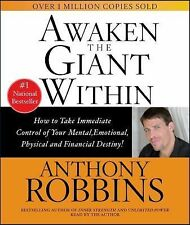 Awaken The Giant Within, Anthony Robbins, Acceptable Book