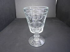 "La Rochere Versailles Water Goblet Clear 6 1/2"" T ca 2007 France"