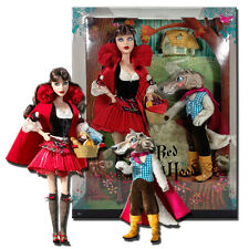 Barbie as Little Red Riding Hood and The Wolf Giftset Mattel
