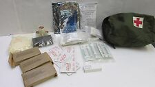 US Military GP First Aid Kit Supplies w/ Pouch for Vehicle Aircraft Helicopter