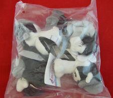"""Disney Bean Bag Plush Horace Horsecollar Clarabelle Cow New Bag 8"""" Black White"""
