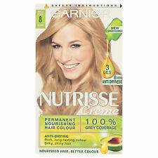 GARNIER NUTRISSE CREME 8 VANILLA BLONDE HAIR COLOUR