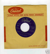 45 RPM SP FOUR KNIGHTS WHO AM I (CAPITOL)