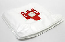10 MICROFIBRE BAGS FIT MIELE S4210 S 4210 S4211 S 4211 S570 S 570  VACUUM    RED