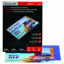 "Gbc Heatseal Clear Premium Laminating Pouches - Letter - 8.50"" Width X 11"""