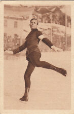 Gillis Grafström Figure Skatinf Patinage Sweden SPORT CARD IMAGE 30s