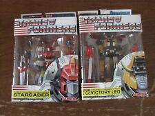 Transformers Takara Mega SCF Super Poseable Starsaber Victory Leo 100% Complete