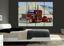 Grand camion peterbilt camion (2) art poster mural photo print