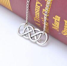 New Fashion jewelry European personality simple retro Infinity pendant necklace