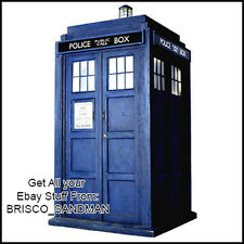 Fridge Fun Refrigerator Magnet Dr. Who: TARDIS Specialty Die-Cut