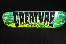 Creature Skateboard Deck Reverse Stain Small 8.0 Free Grizzly Grip Tape U Choose