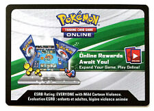 1x Pokemon Breakthrough Code Cards for Pokemon TCG Online Booster Pack