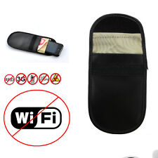 Car FOB remote Bluetooth RFID Signal Wifi Blocking Pouch Faraday Cage SAFE